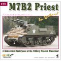 WWP [R071]WWII米 M7B2プリースト自走榴弾砲  ディティール写真集