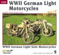 WWP [R074] WWII ドイツ軍の軽モーターバイク ディティール写真集