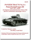[PANZER_TRACTS_3-1]III号戦車A,B,C,D型,リヒトトラクター,クルップM.K.A.