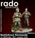 "Rado Miniatures[RDM35003] 1/35 WWII独 武装親衛隊第12装甲師団""HJ"" ""ノルマンディ""(2体セット)"