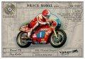 BrachModel[BM-VR07]1/12  ドゥカティTT2 ライダー:トニー・ラッター