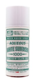 GSIクレオス[B612]水性ホワイトサーフェイサー1000スプレー
