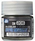 Mr.カラー[SM206]スーパークロームシルバー2