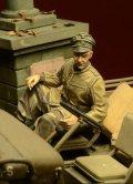 D-Day miniature studio[DD35029] 1/35  武装親衛隊将校 乗車姿 アルデンヌ1944