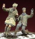 D-Day miniature studio[DD35045] 1/35  1914年 奇跡の休戦 クリスマスにサッカーに興じる英独兵
