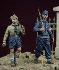 D-Day miniature studio[DD35067]1/35 WWII 「最後の命令」Vol.3 ヒトラーユーゲント少年兵 ドイツ1945(2体セット)