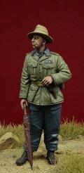 D-Day miniature studio[DD35086]1/35 WWII独 1/35 コンドル軍団 装甲部隊将校 #2