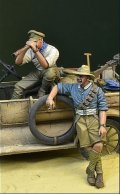 D-Day miniature studio[DD35119]1/35 WWI オーストラリア・ニュージーランド軍団兵士セット1