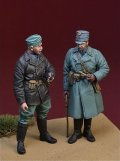 D-Day miniature studio[DD35130]1/35 WWII蘭オランダ陸軍将校と下士官セット西部戦線オランダ1940