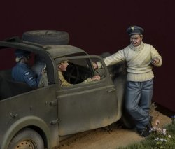画像4: D-Day miniature studio[DD35142]1/35 WWII 英 バトルオブブリテン1940年(1)「戦争中の火遊び」3体セット
