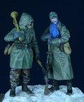 D-Day miniature studio[DD35006] 1/35 WWII 独 武装親衛隊擲弾兵 2体セット 東部戦線1943-1945
