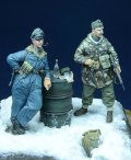 D-Day miniature studio[DD35009] 1/35 WWII ハンガリー/独将校 2体セット ハンガリー1945