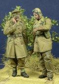 D-Day miniature studio[DD35094]1/35 WWII英 将校&伝令兵セット フランス1940(2体セット)