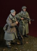 D-Day miniature studio[DD35161]1/35 WWII 独 武装SS擲弾兵セット アルデンヌ1944