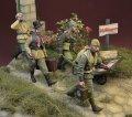 D-Day miniature studio[DD35170]1/35 WWII 露/ソ ソビエト赤軍「ヨーロッパの赤い嵐」戦利品を運ぶ後方部隊1944〜46(4体入)