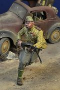 D-Day miniature studio[DD35175]1/35 WWII 露/ソ デグチャレフ軽機関銃を持つソ連歩兵 ベルリン1945