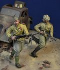 D-Day miniature studio[DD35176]1/35 WWII 露/ソ 突撃中のソ連歩兵 ベルリン1945
