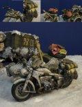 D-Day miniature studio[DD35188]1/35 WWII ドイツ ツェンダップKS750用冬季装備車載セット