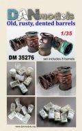 DANmodels[DAN35276]1/35 古いドラム缶 (8個入り)