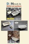 DANmodels[DAN35284]1/35 バスタブ & 洗面台 (各1個入り)