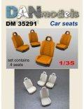 DANmodels[DAN35291]1/35 車のシート (4個入り)