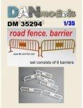 DANmodels[DAN35294]1/35 ガードフェンス (6個入り)