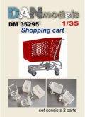 DANmodels[DAN35295]1/35 ショッピングカート (2個入り)