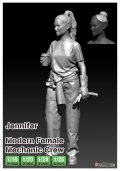 """DEF.MODEL[DF16003]1/16 女性メカニック""""ジェニファー"""""""