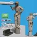 DEF.MODEL[DF35028]1/35 現用 アメリカ陸軍M1A2戦車搭乗員(1)ボアサイト 3Dプリンター部品付