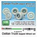 DEF.MODEL[DW35101]1/35 ダイオパーク ダンプカー用 自重変形タイヤ