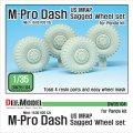 DEF.MODEL[DW35104]1/35 現用米 MATV M-Proダッシュ 自重変形タイヤ(パンダ用)