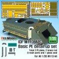 DEF.MODEL[DE35023]1/35 IDF M113 APC基本型用PEディテールアップセット(各社1/35スケールM113対応)