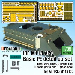 画像1: DEF.MODEL[DE35023]1/35 IDF M113 APC基本型用PEディテールアップセット(各社1/35スケールM113対応)