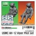 DEF.MODEL[DF35020]1/35 現用 米海兵隊 USMC AH-1Zバイパー パイロット&ガンナーセット(着座姿勢)