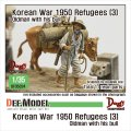 DEF.MODEL[DF35024]1/35 朝鮮戦争 難民(3) 避難する老人と雄牛 朝鮮戦争1950