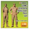 DEF.MODEL[DF48001]1/48 現用 米海兵隊 USMC AH-1Zバイパーパイロットセット(立像)