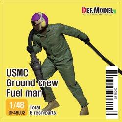 画像1: DEF.MODEL[DF48002]1/48 現用 アメリカ海兵隊地上要員 フュールメン(3Dプリンター製給油ノズル付)