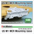 DEF.MODEL[DM35076]1/35 現用米 M1エイブラムス 地雷除去ユニット基部セット(汎用)