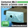DEF.MODEL[DM35096]1/35 現用 英 センチュリオンMk.3戦車用防盾キャンバスカバーセット(AFVクラブ用)