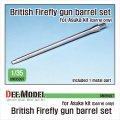 DEF.MODEL[DM35097]1/35 WWII 英 英陸軍シャーマンファイアフライ用17ポンド砲 砲身セット(アスカ用)