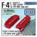 DEF.MODEL[DS32010]1/32 F-4C/DファントムII FODカバー+RBFタグセット(タミヤ用)