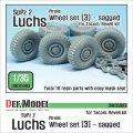 DEF.MODEL[DW35083]1/35 現用独 ルクス 8X8 装甲偵察車 自重変形タイヤ 3(ピレリ)(タコム/レベル用)