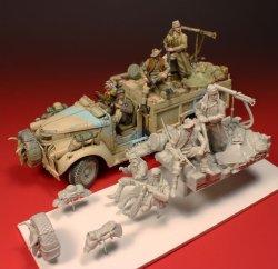 画像2: Darius Miniatures[DA35001]1/35 WWII英 LRDGシボレー 積荷セット(タミヤ用)
