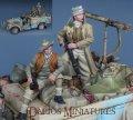 Darius Miniatures[DMF35013]1/35 WWII英 LRDG 兵士(2体セット)2