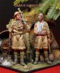 Darius Miniatures[DMF35018]1/35 WWII英 第8軍 兵士(2体セット)