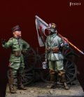 Darius Miniatures[DMF35031]1/35 WWI 独 ドイツ帝国陸軍 「皇帝による大戦争を遂行せよ」(2体セット)