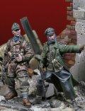 Darius Miniatures[DMF35047]1/35 WWII ドイツ武装親衛隊将兵セット2 作戦行動中(2体入)