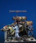 Darius Miniatures[DMF35050]1/35 WWII ドイツ「最後の塞(とりで) ベルリン1945」ビネットセット
