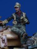 Darius Miniatures[DMF35062]1/35 WWII ドイツ戦車搭乗員 パイプを嗜む