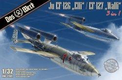 画像1: ダス・ヴェルク[USCDW32001]1/32 Ju EF-126「エリ」 / EF-127「ウォーリー」 3 in 1